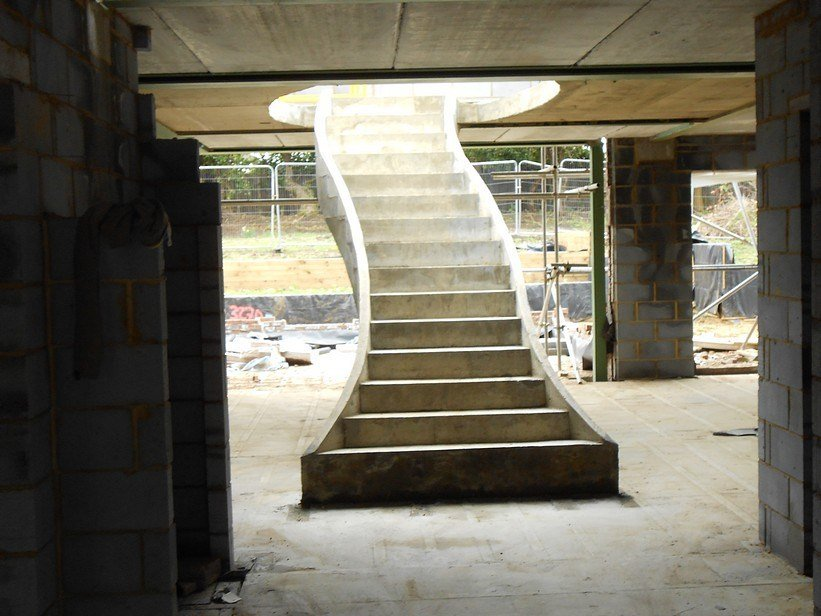 10 Great Reason Curved Concrete Staircase Outdoor Wooden Spiral Staircase
