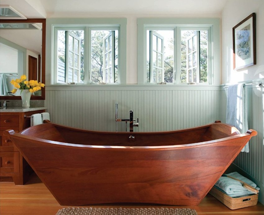 10 Relaxing Unique Wooden Bathtub Love How To Build A Wooden Bathtub Stool