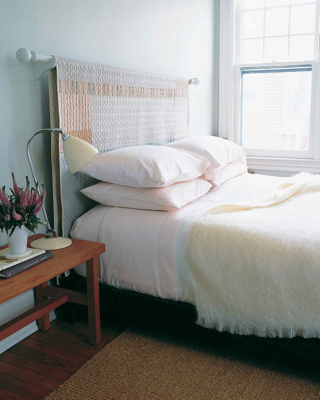 11 Diy Headboard Idea Give Bed Boost Martha King Size Bed Frame With Headboard