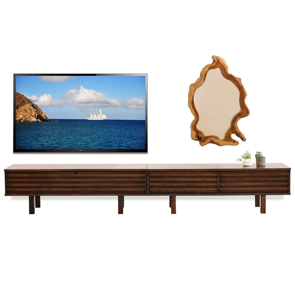 15 Photo Modern Profile Tv Stand How To Design Rustic Console Table