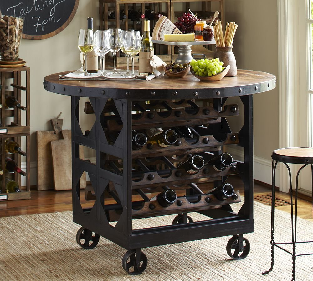 16 Industrial Furniture Piece Purchase How To Build Round Wood Table Tops