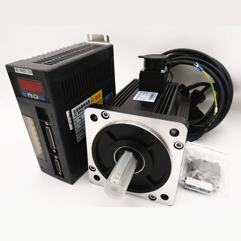 2 6kw 10nm Servo Motor Drive 220v 2500rpm Nema52 Servo Kit Kitchen Cabinet Hardware Pulls Installation