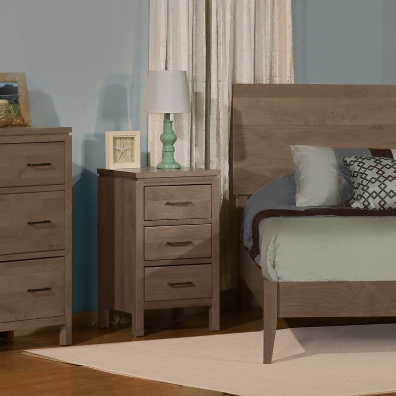 2 West Amish Contemporary Bedroom Collection How Make Queen Bookcase Headboard