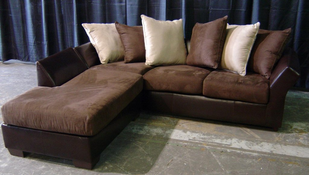 20 Collection Leather Suede Sectional Sofa How To Reapir A Microsuede Sofa