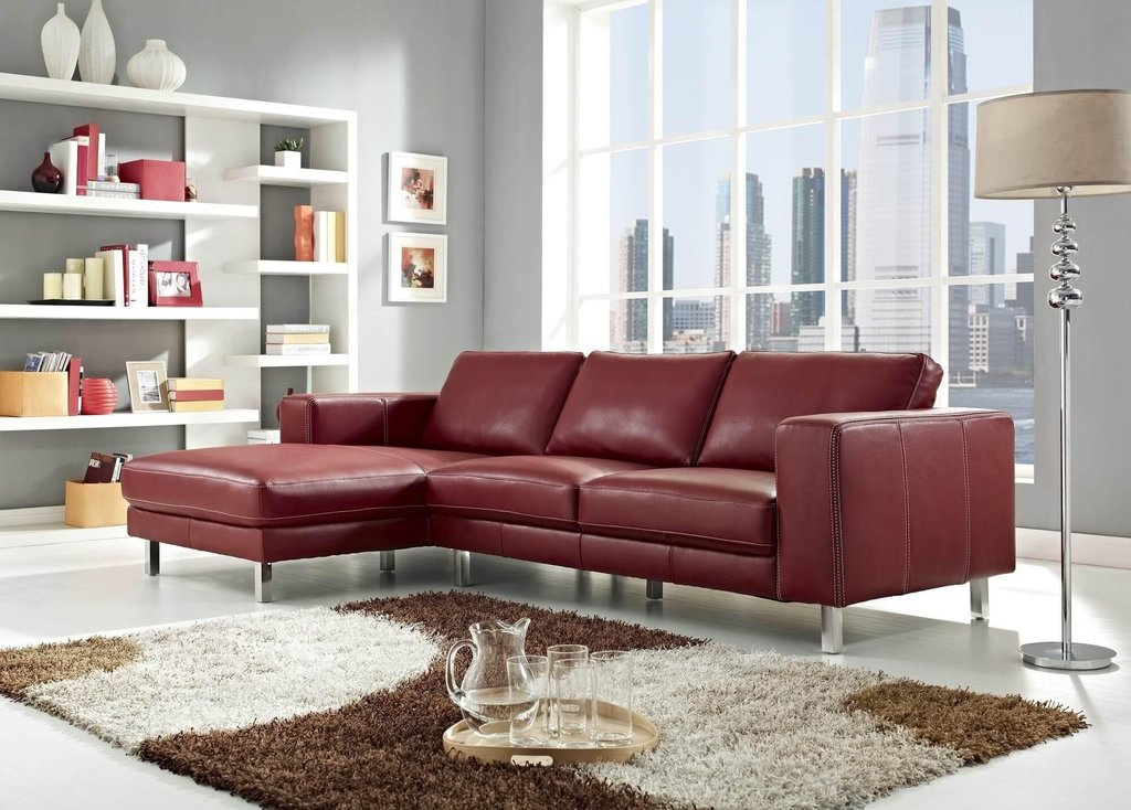 20 Idea Dark Red Leather Couch Sofa Idea Decorating Burgundy Leather Sofa