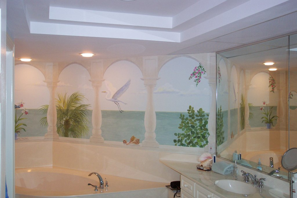 21 Great Mosaic Tile Mural Bathroom Idea Picture Is Travertine Tiles Good For The Bathroom?