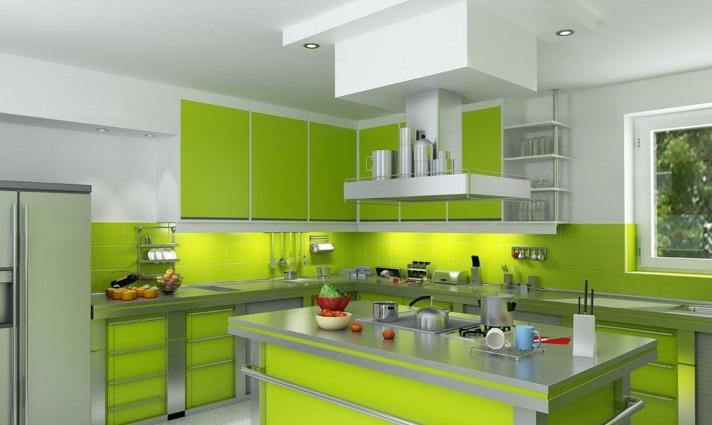 23 Green Kitchen Cabinet Idea Kitchen Interior What Colors Look Best With Green Kitchen Walls?