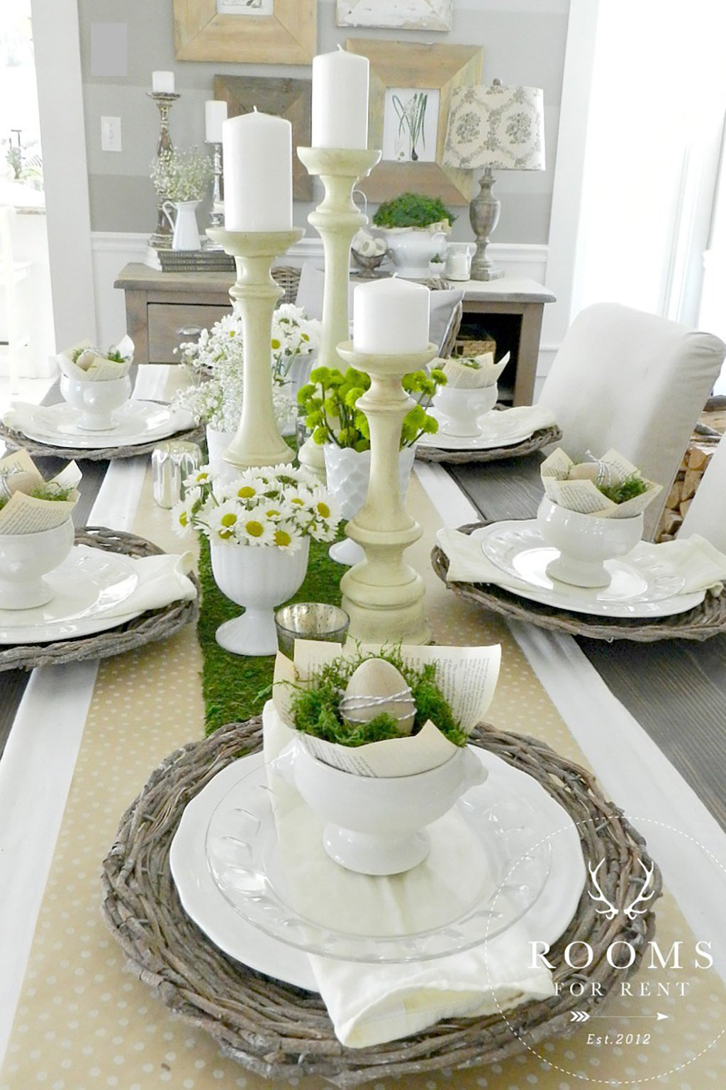 25 Easter Table Decoration Centerpiece Easter Dining Room Table Centerpieces Ideas