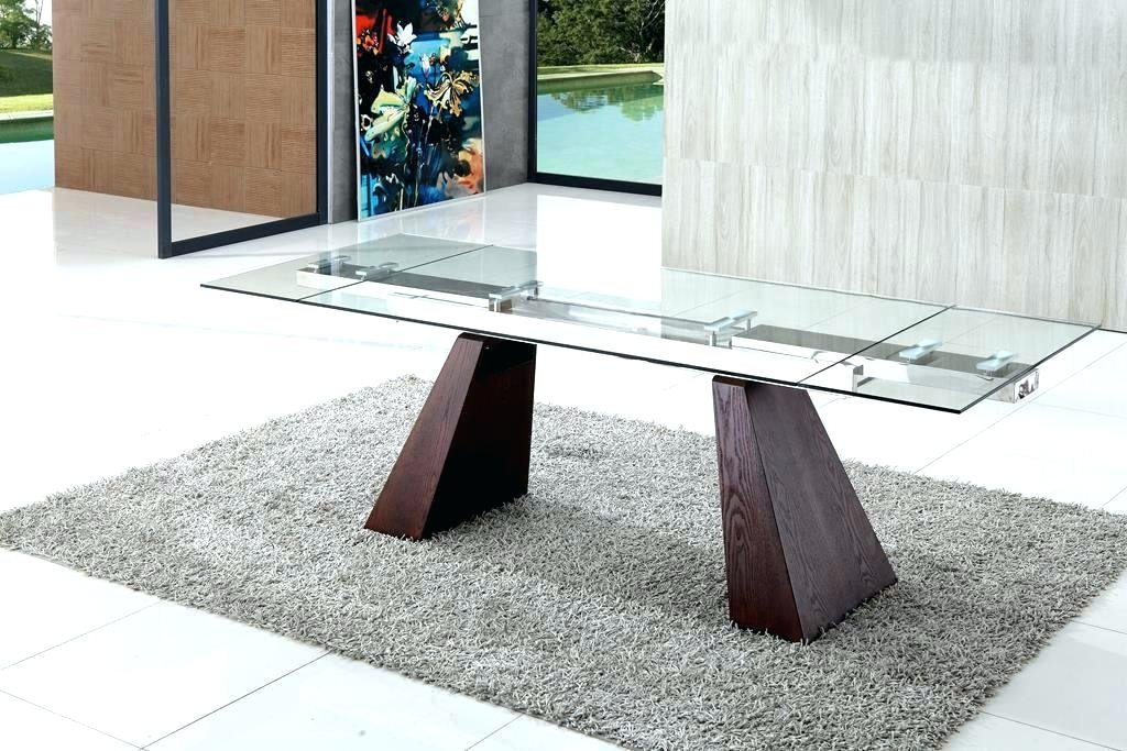 25 Idea Extendable Glass Dining Table Dining Extendable Dining Table Ideas