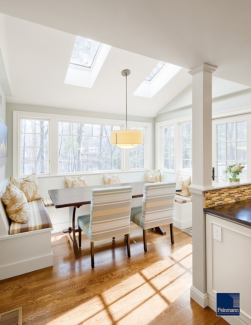 27 Dining Room Skylight Steal Show Breakfast Nook Furniture Ideas