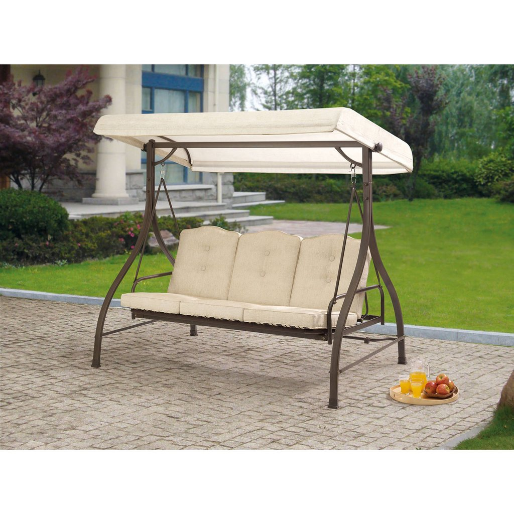3 Person Swing Canopy Walmart Porch Swing Walmart Wooden Porch Swings With Frame