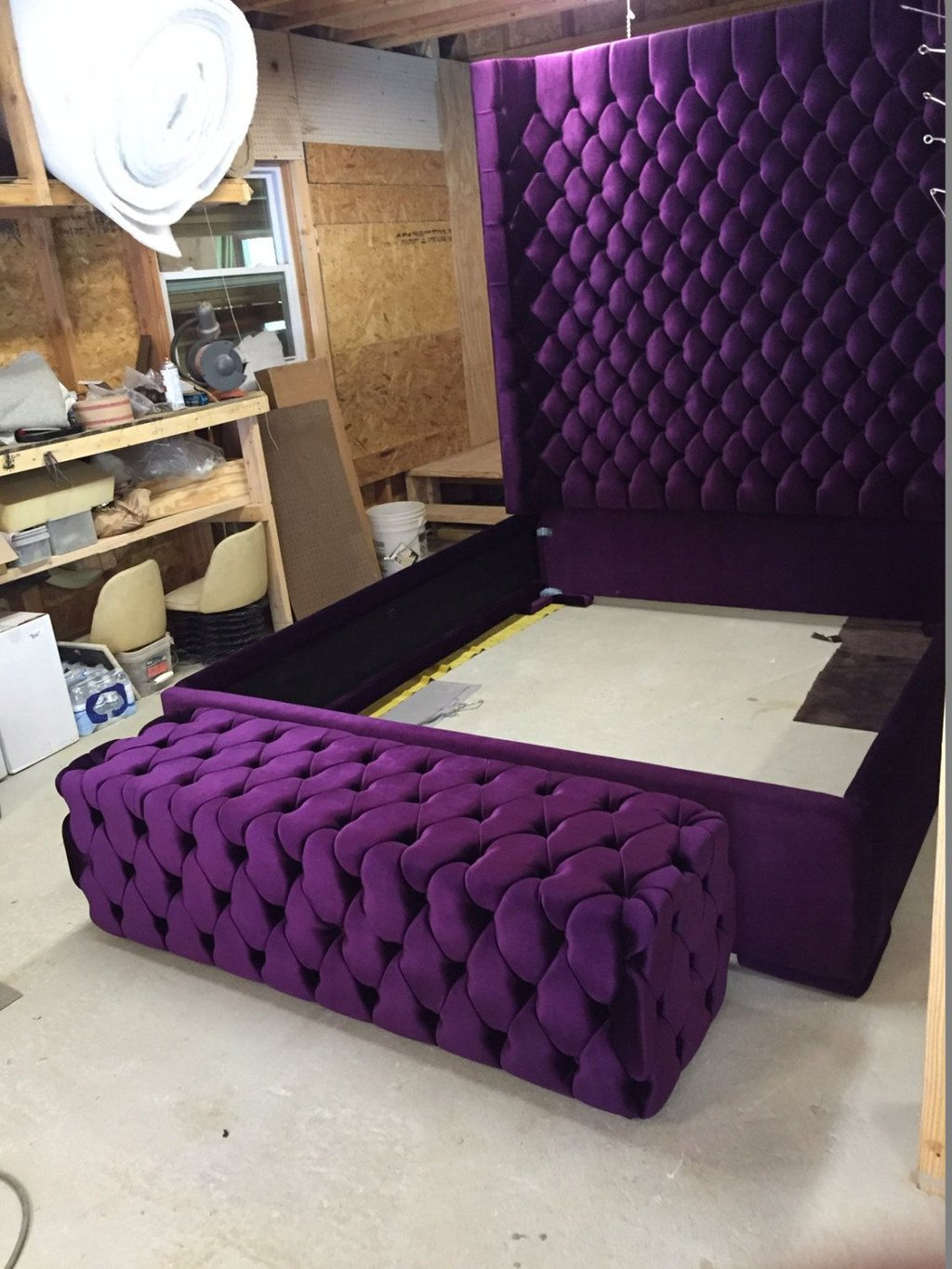31 Outstanding Tufted Headboard Idea Bedroom How To Build A Tufted Headboard