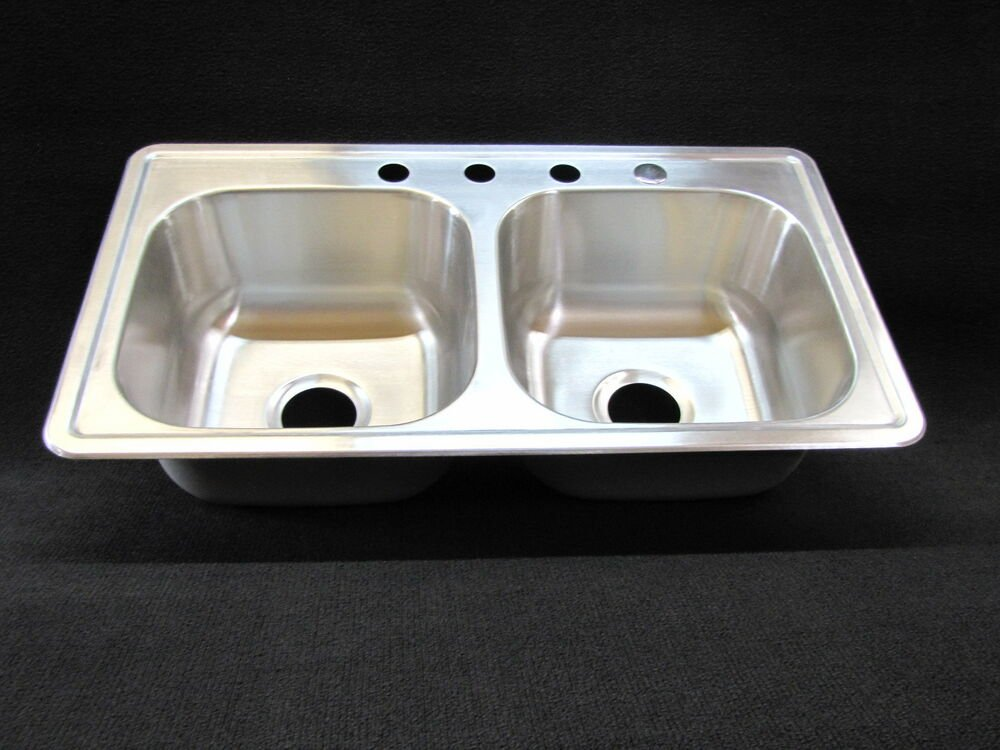 33 Quot 19 Quot 8 Quot Extra Deep Double Bowl Kitchen Sink The Importance Of Good Deep Kitchen Sinks