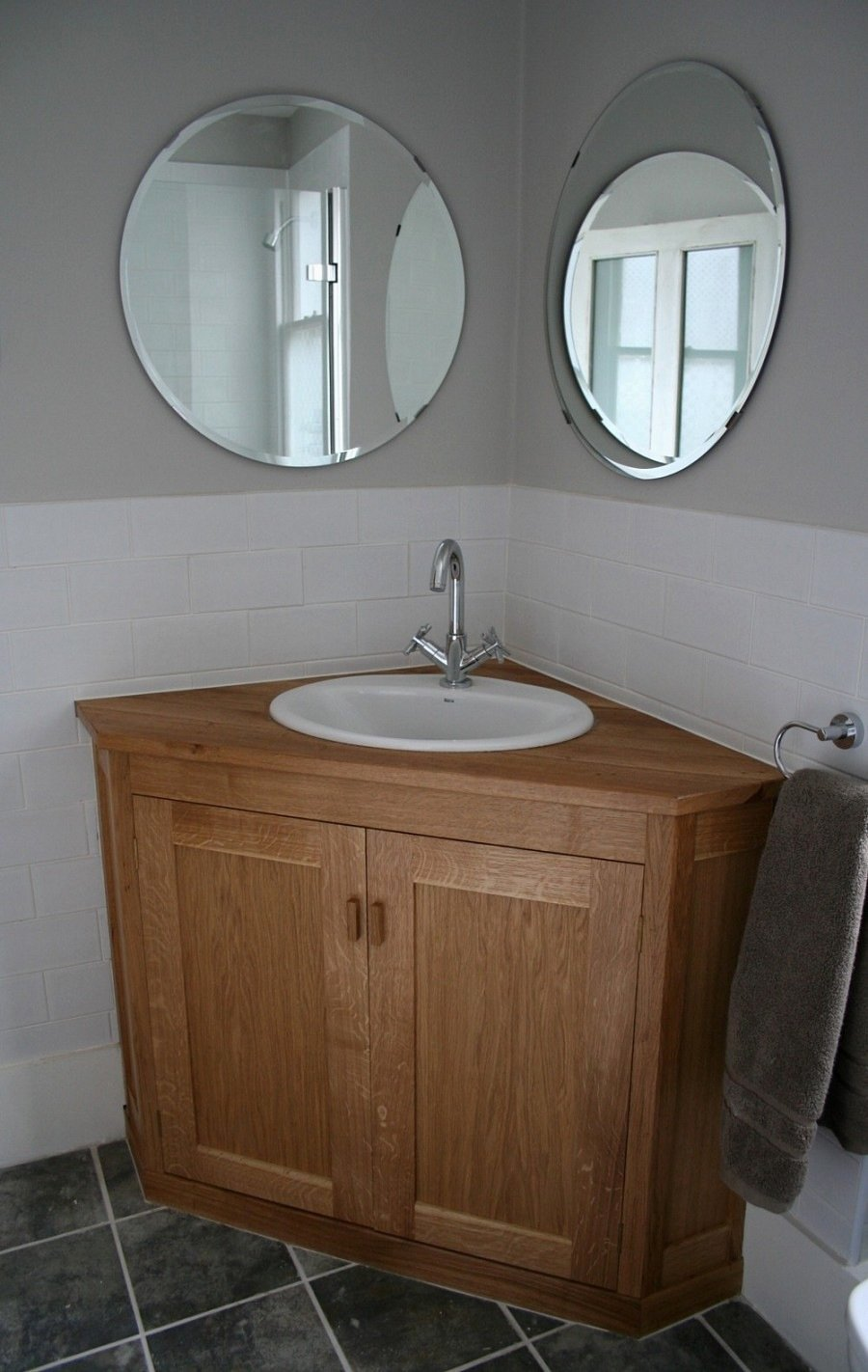 34 Lovely Corner Vanity Small Bathroom Jose Style Solid Wood Vanity Units For Bathrooms
