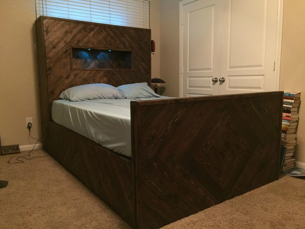 39 Diy Bed Frame Give Comfortable Sleep How To Build A Wood Twin Bed Frame
