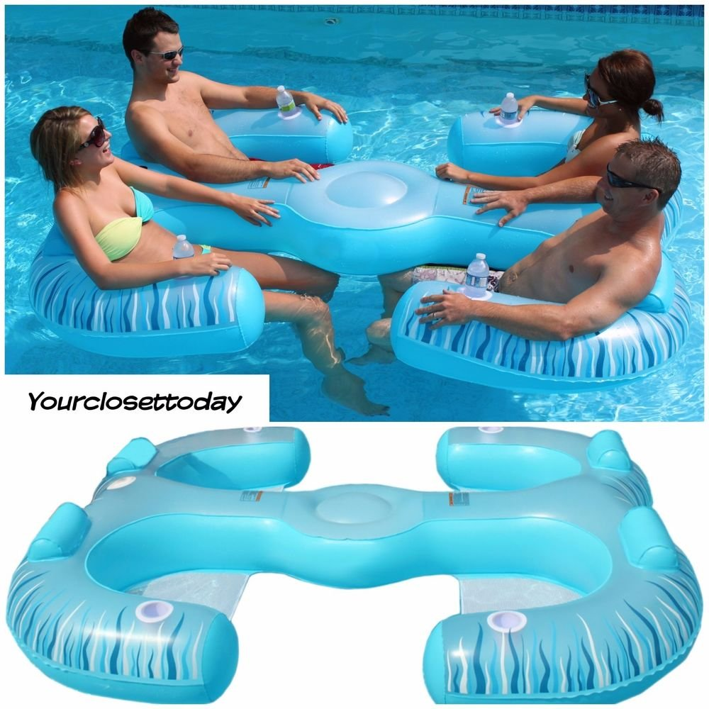 4 Person Inflatable Float Lounge Sofa Couch Lounger Best Lounger Sofa Ideas