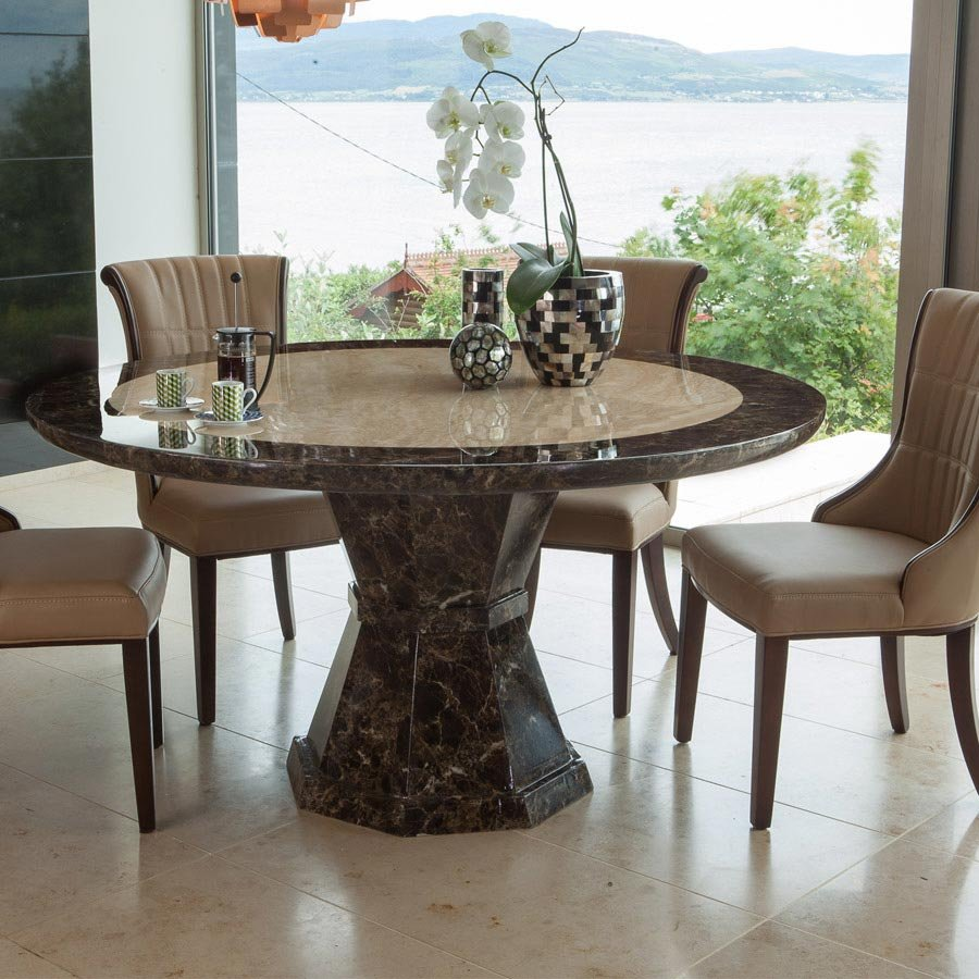 49 Marble Dining Table Set 25 Idea The Round Marble Dining Table