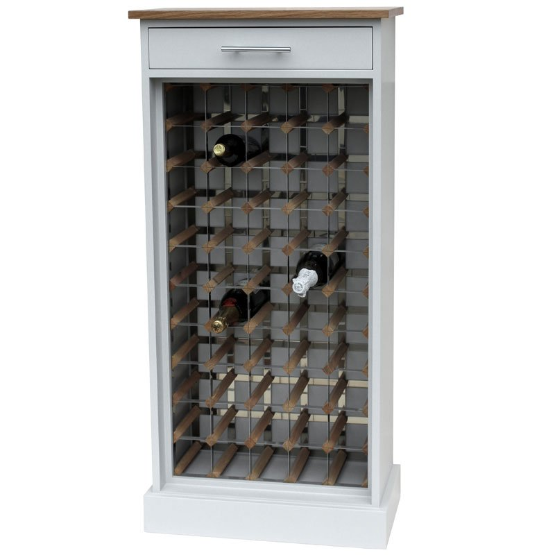 50 Bottle Grey Contemporary Wooden Wine Cabinet Rack How To Installing Wine Cooler Cabinet