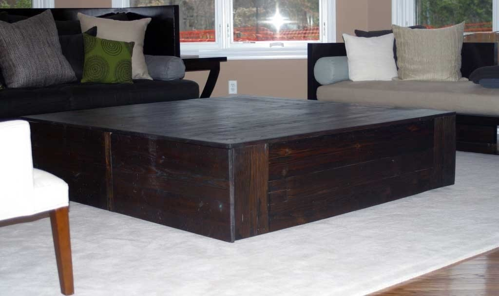 50 Large Square Coffee Table   Idea Small Square Ottoman Coffee Table