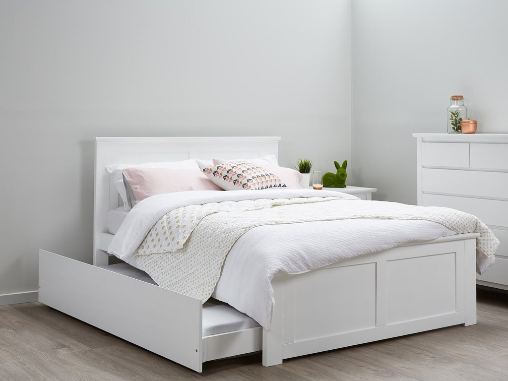 54 Kid Double Bed Frame Metal Single Double Triple Ideas For A Twin Headboard For Double Bed