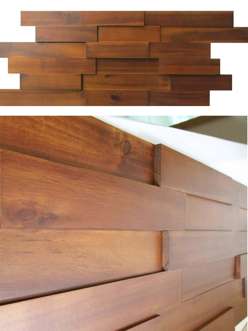 Acacium Wood Paneling Mosaic Interior 3d Mosaic Wood Wall Special Wood Paneling For Walls