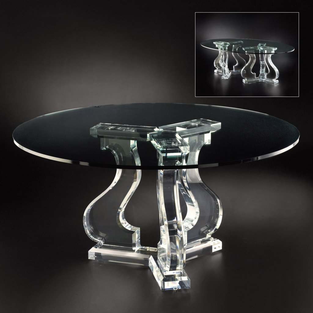 Acrylic Glass Table Table Design Idea Changing Table Topper Children