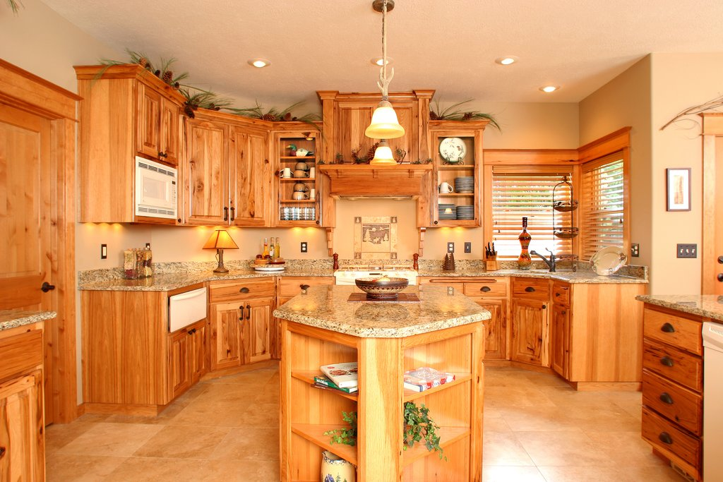 Affordable Custom Cabinet Showroom Drawbacks To Hickory Wood Floors