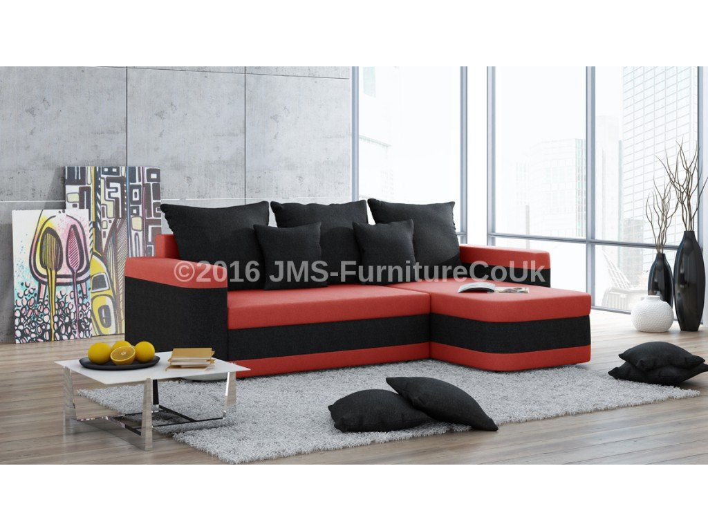 Alex Corner Sofa Bed Jm Furniture Sectional Sofas For Small Spaces Modern