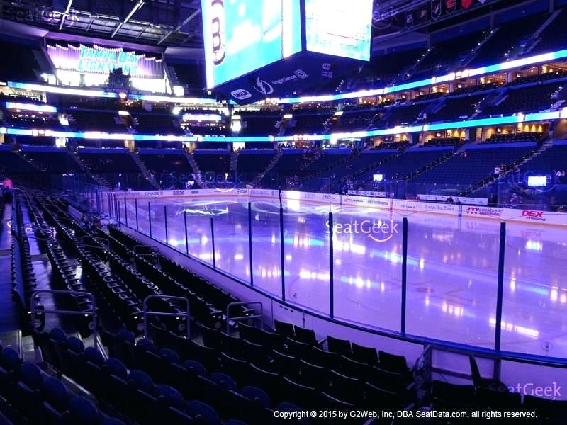 Amalie Arena Seating Chart View Cabinet Matttroy Staining Kitchen Cabinets Ideas