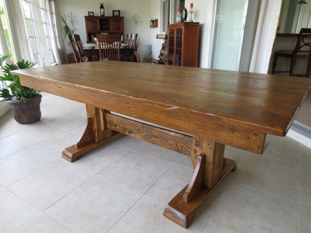 Amazingly Popular Kitchen Table Reclaimed Wood Modern Reclaimed Wood Round Dining Table
