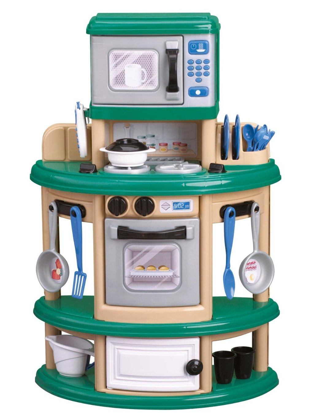 American Plastic Toy Kitchen Review Wooden Kitchen Playsets For Childhood Education