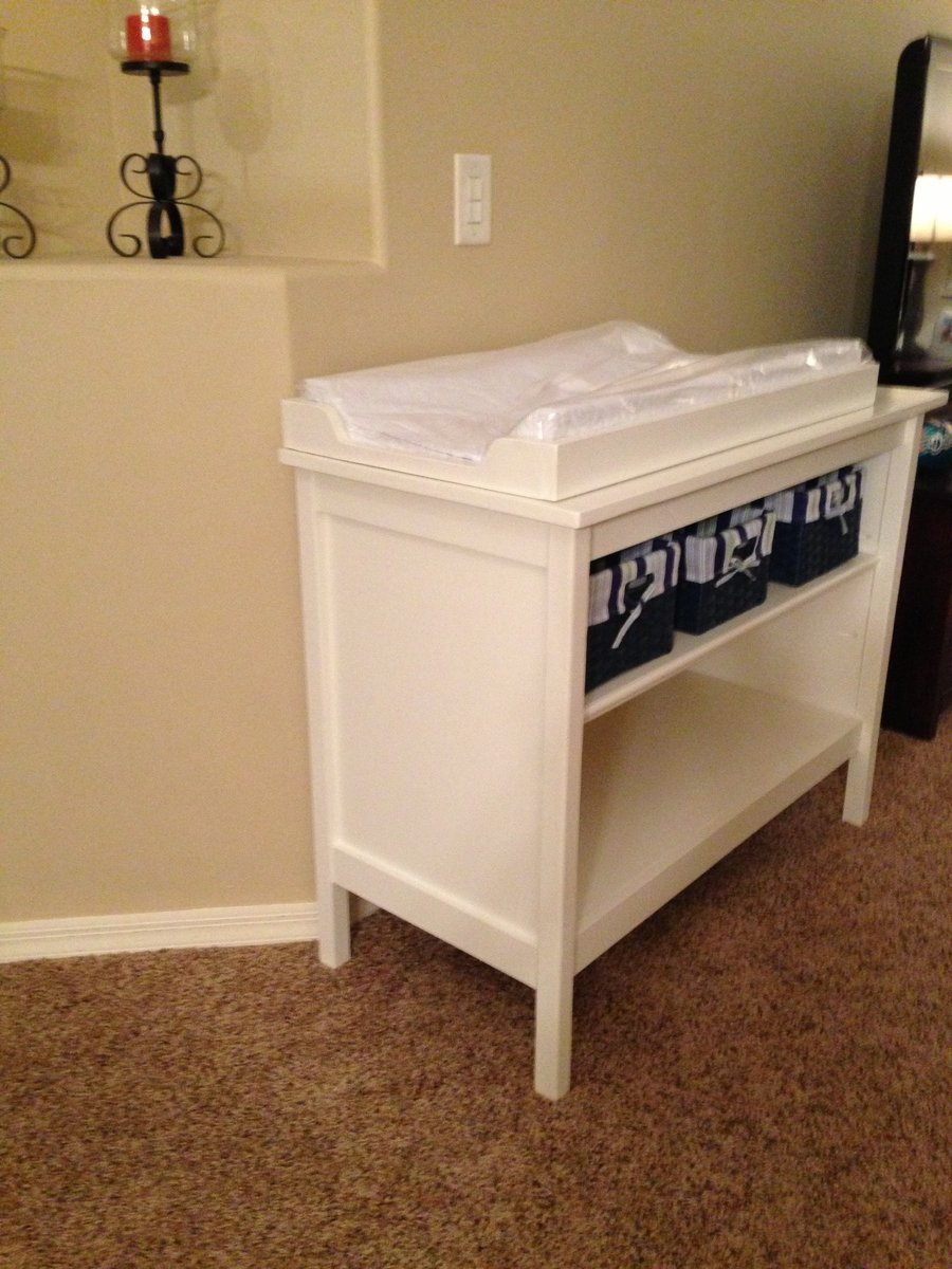 Ana White Basic Changing Table Besty Diy Project Changing Table Topper Children