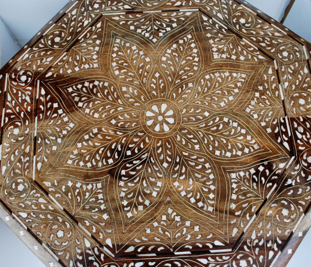 Anglo Indian Inlay Side Table 1stdib Make A Tree Trunk Coffee Table