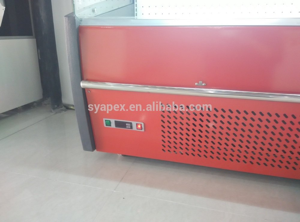 Apex Multideck Open Chiller Air Curtain Supermarket Make Wooden Narrow Dresser Easier For The Drawer Slide