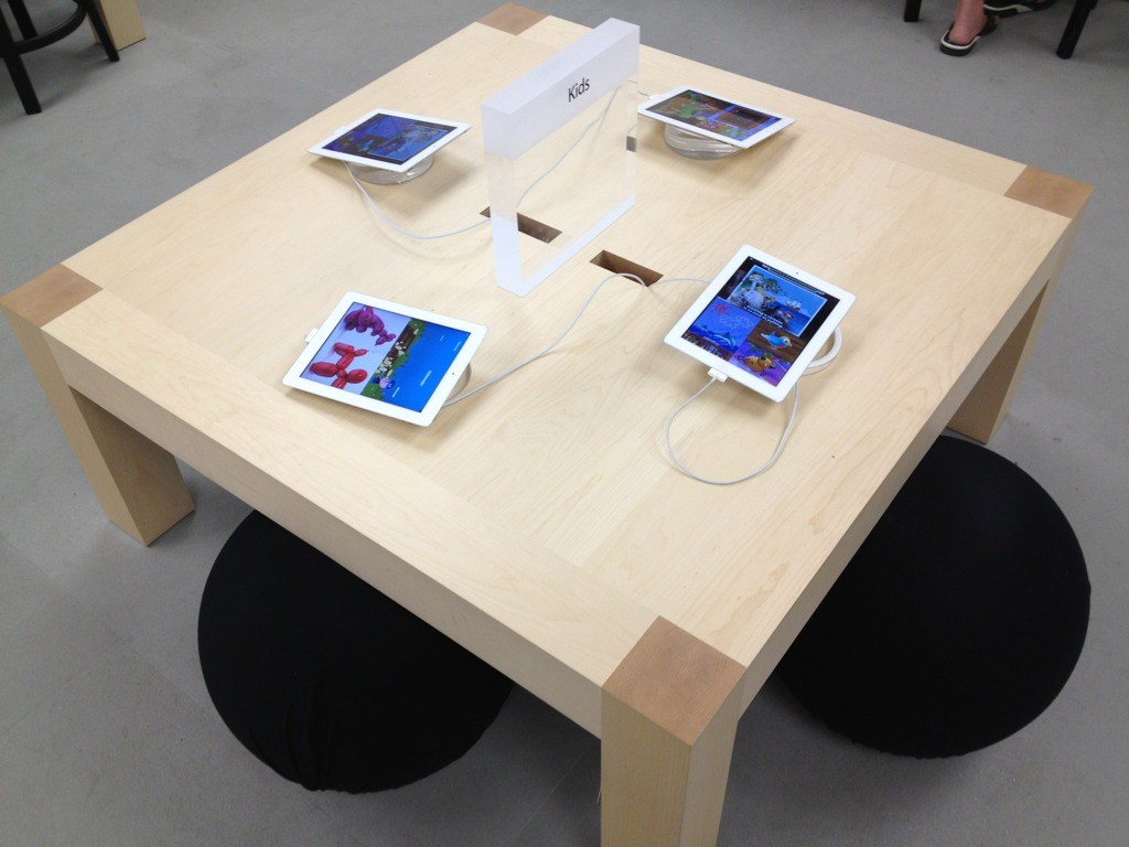 Apple Started Replace Kids 39 Table Ipad How To Build Round Wood Table Tops