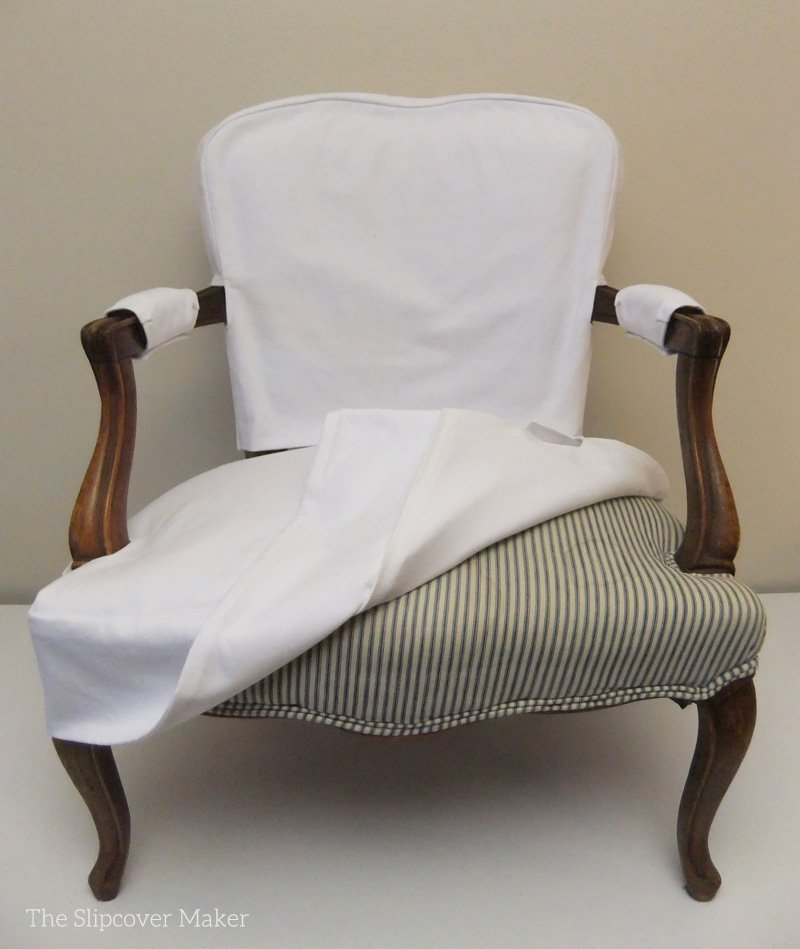 Armchair Slipcover Slipcover Maker Making Dining Room Chair Slipcovers