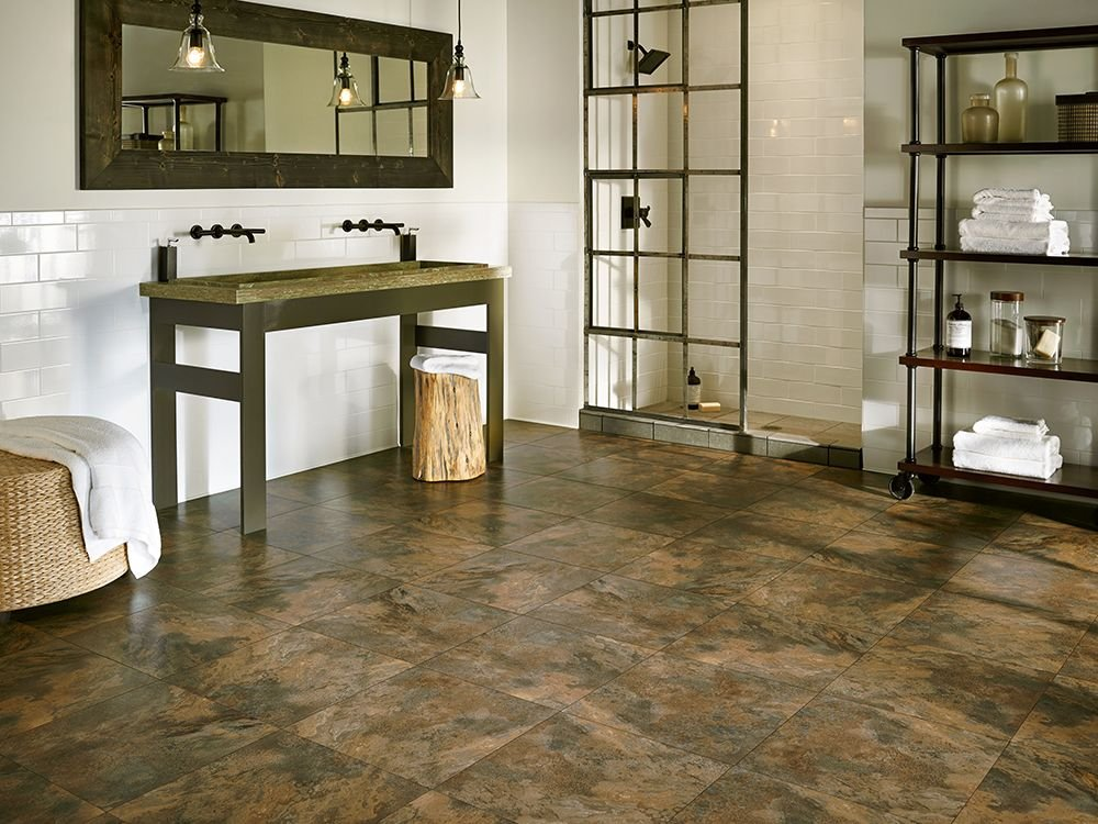 Armstrong Luxury Vinyl Tile Flooring Lvt Slate Mild Soap For Slate Tile Flooring