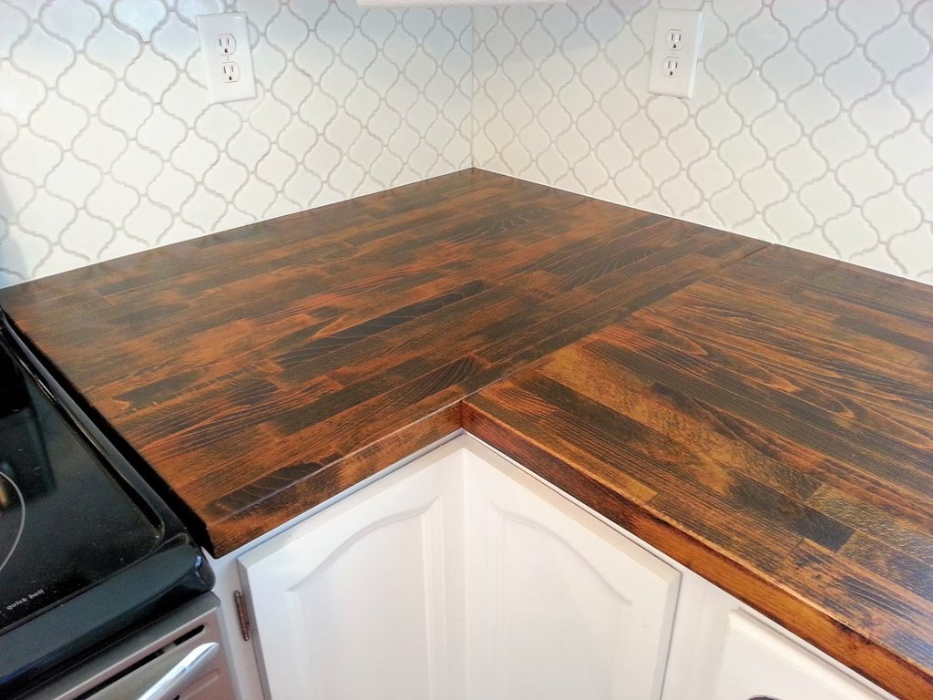 Awesome Kitchen Idea Info Refinishing A Butcher Block Countertop
