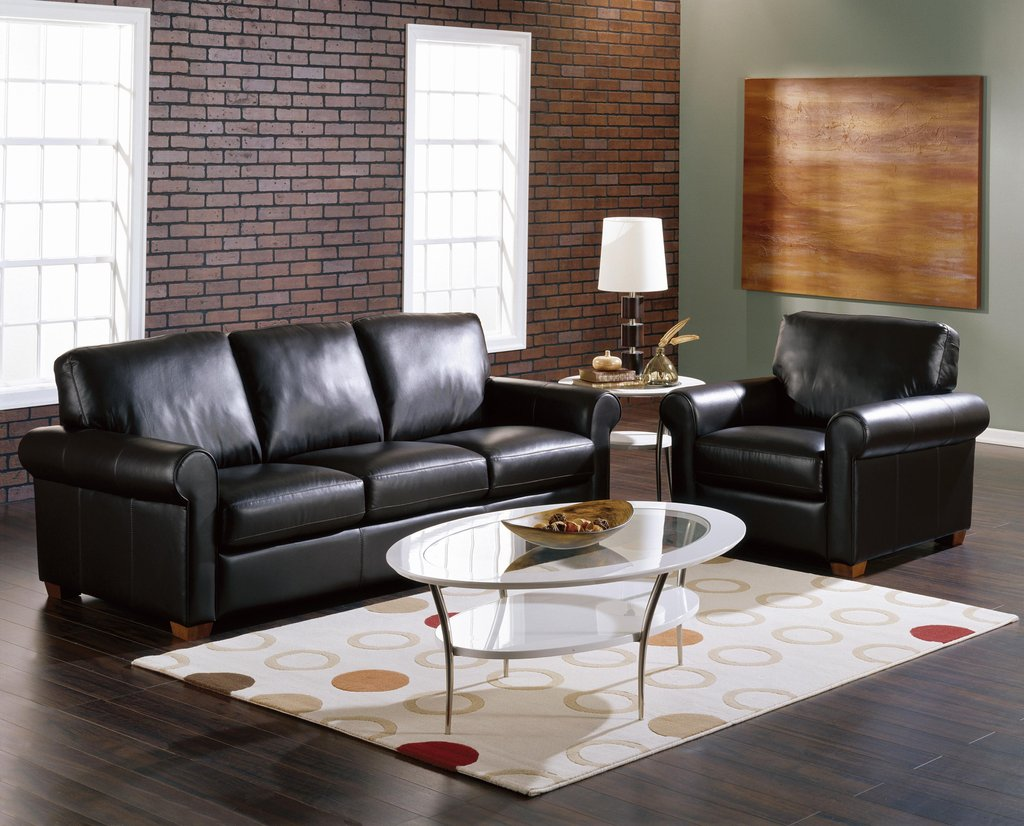 Awesome Living Room Idea Black Leather Sofa Greenviral Decorating Burgundy Leather Sofa