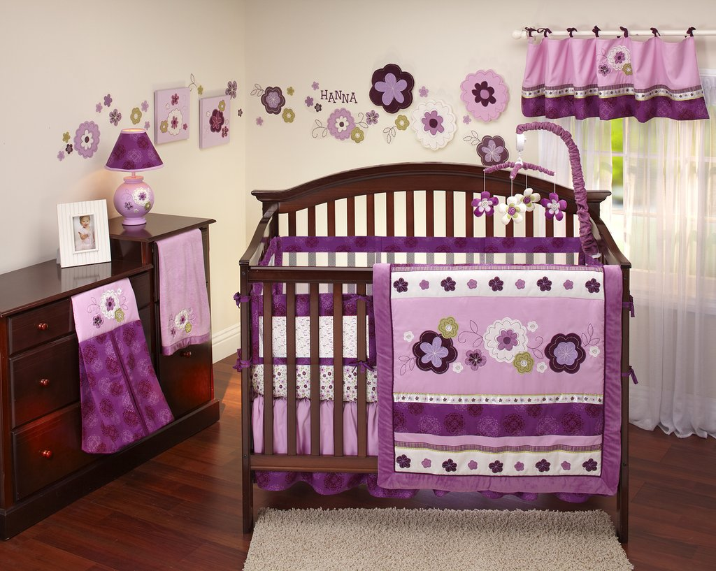 Baby Crib Bedding Set Girl House Photo Extendable Dining Table Ideas
