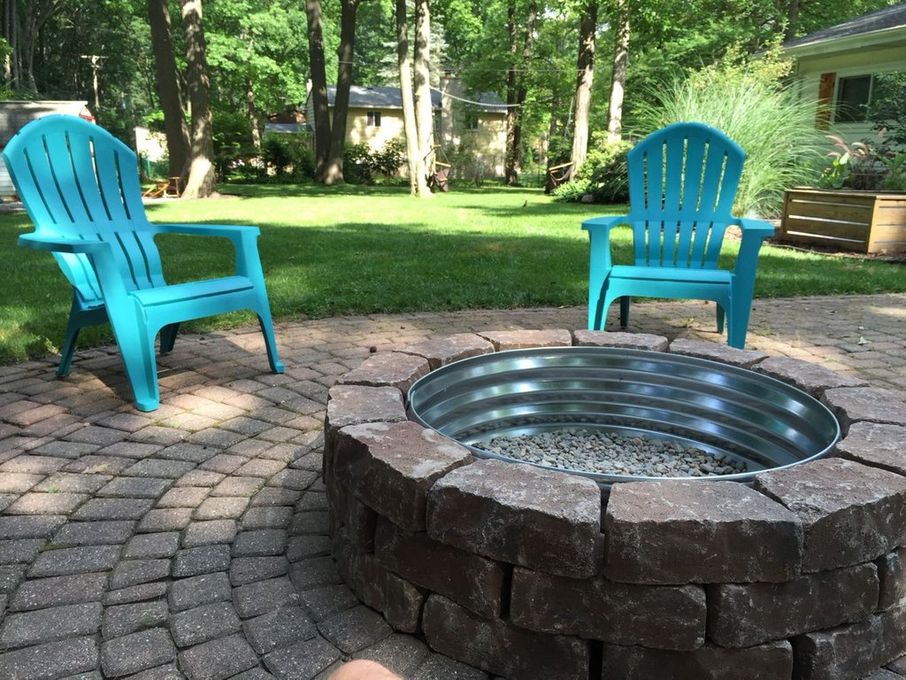 Backyard Fire Pit Lowe Paver Brick Tractor Supply Making Fire Pit Coffee Table