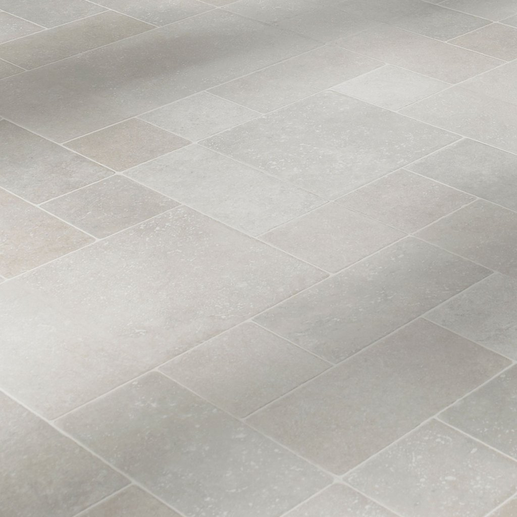 Barbaritum Random Limestone Tile Effect Laminate Flooring 1 Tile Effect Laminate Flooring For Bathrooms