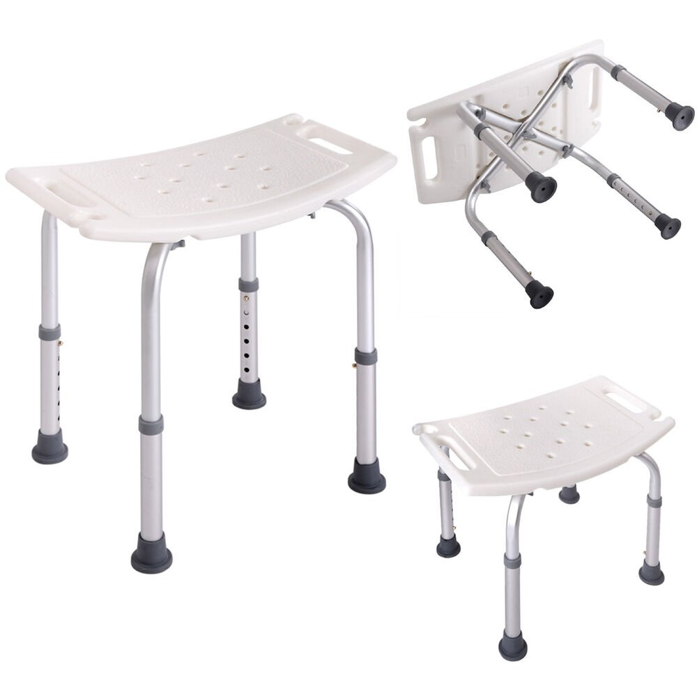 Bath Shower Chair Adjustable Medical 6 Height Bench How To Build A Wooden Bathtub Stool