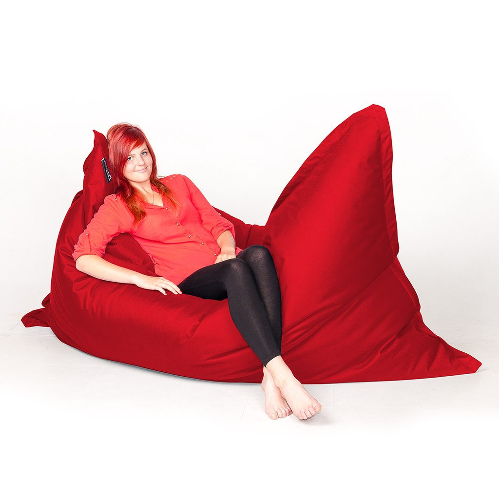 Bean Bag Extra Large 140 200 Red Classmart Improve Extra Large Bean Bag For Any Style Of Decoration