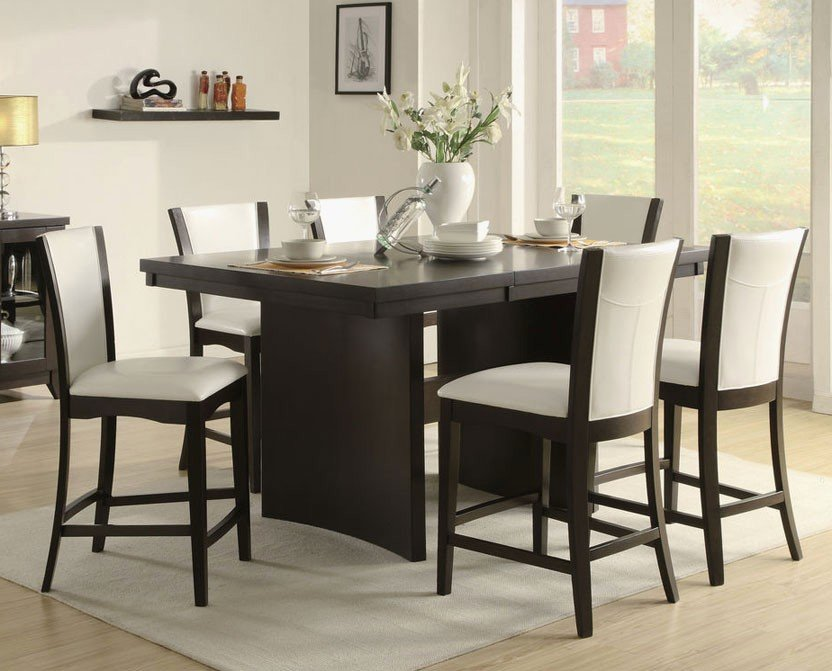 Beautiful Counter High Kitchen Table Gl Kitchen Design Counter Height Kitchen Tables Design
