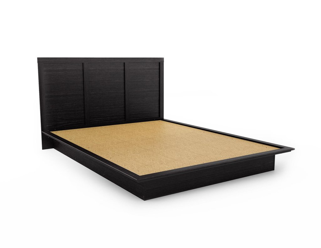 Bedroom Elegant Simple Queen Bed Platform Frame Comfortable Sleep Founded Project Platform Bed Frame Queen