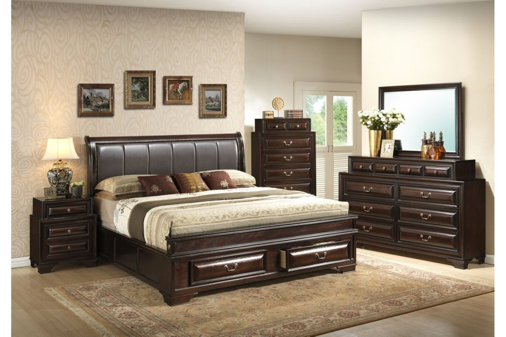 Bedroom Furniture Set King Size Furniture Home Decor King Size Bed Frame With Headboard