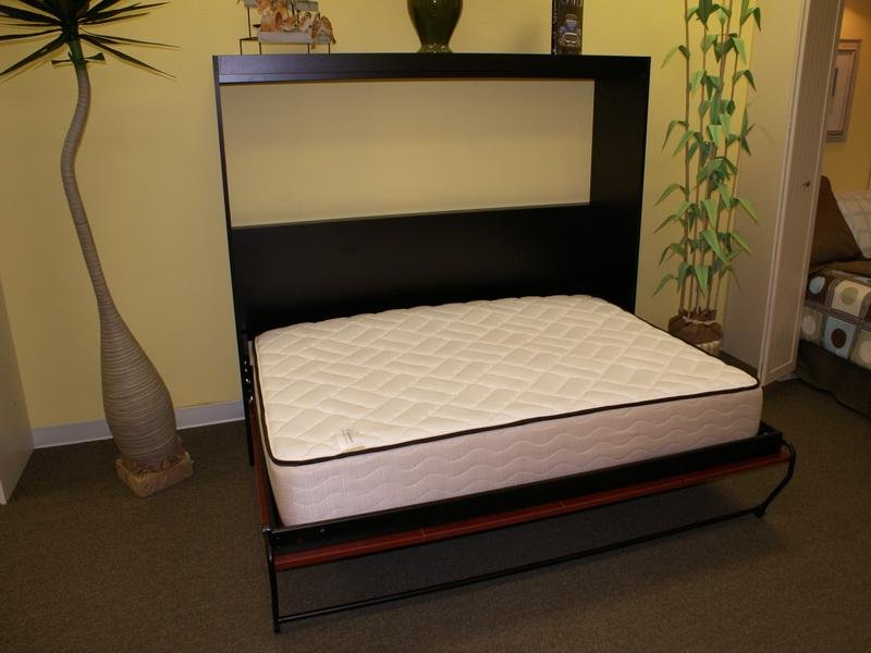 Bedroom Simple Horizontal Twin Murphy Bed Horizontal How To Make A Header Two Queen Size Headboards