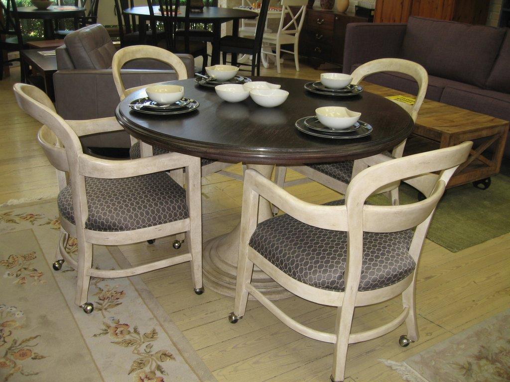 Benefit Dining Chair Caster Kitchen Dining Room Chairs With Arms