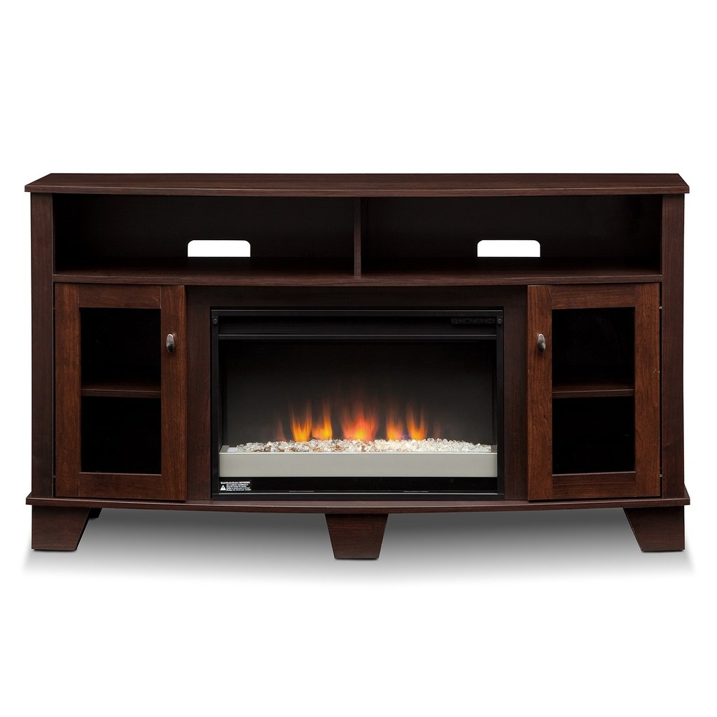 Bentwood Entertainment Furniture Fireplace Tv Stand